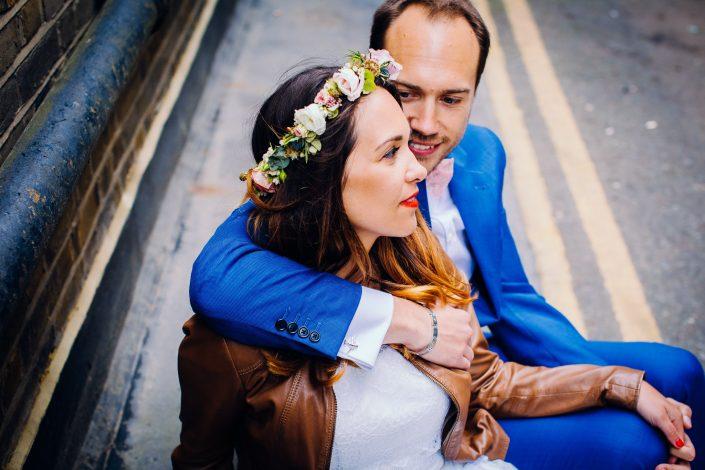wedding photographer in shoreditch and brick lane, london