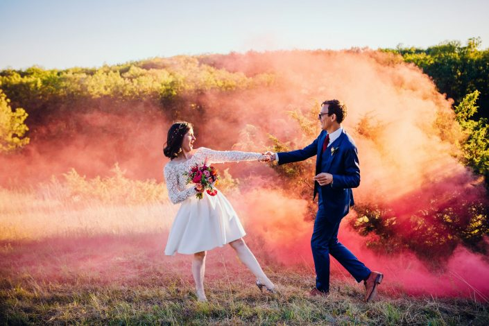 photographe de mariage funky photo de couple rock'n'roll