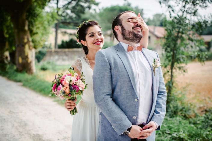 découverte mariés au chateau du croisillat Caraman