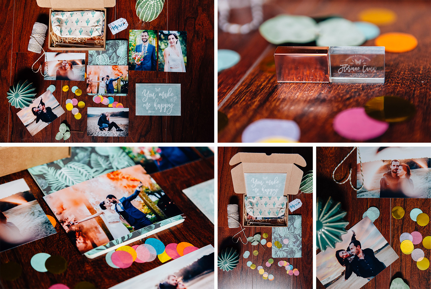 packaging USB photographe mariage