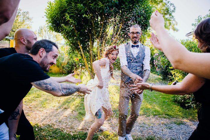 photographe mariage confettis et rock'n'roll