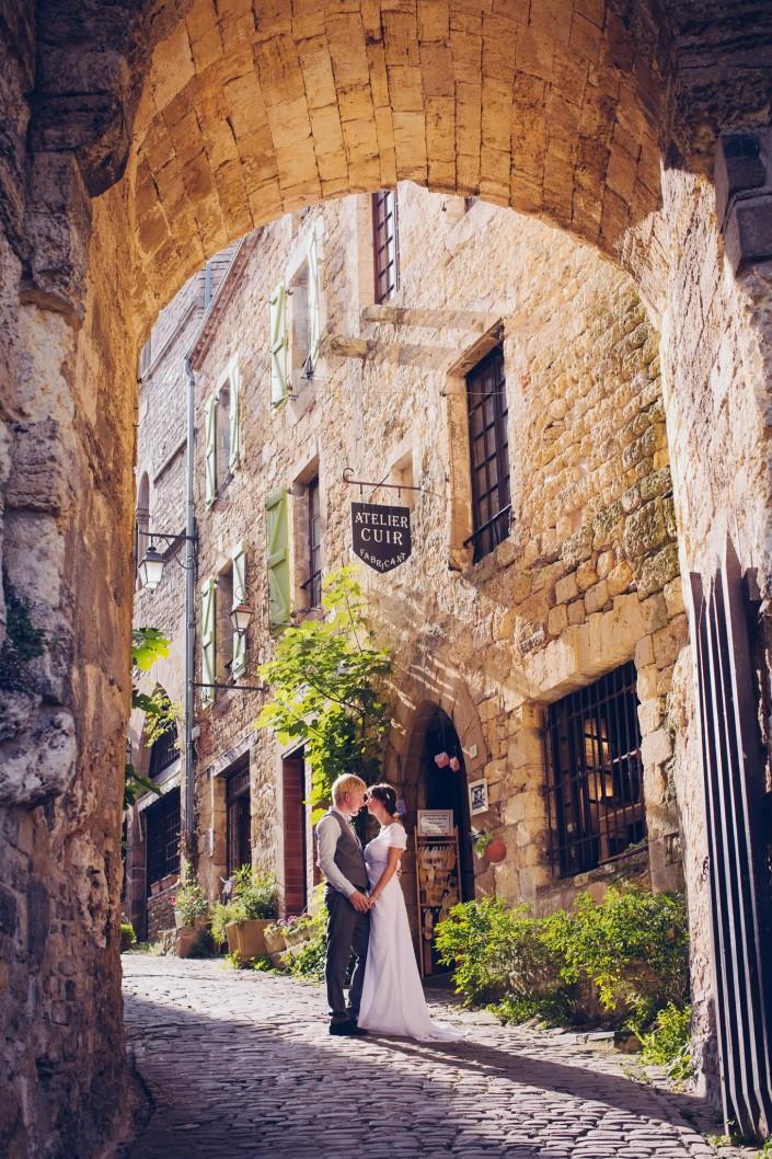 photo mariage cordes sur ciel
