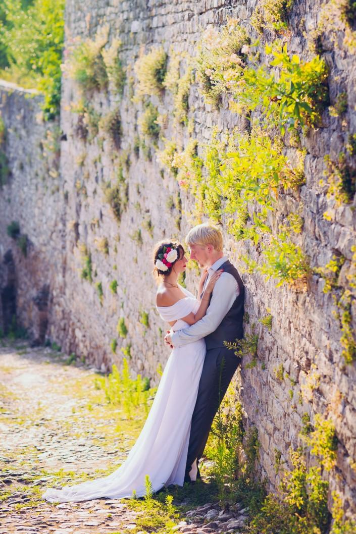 seance après mariage cordes sur ciel