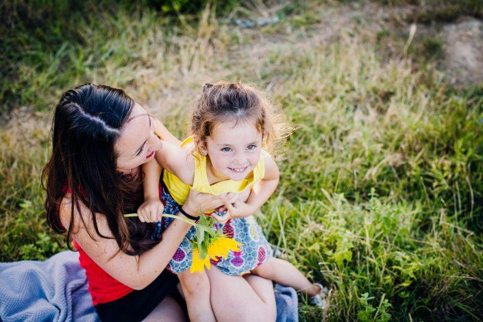 seance photo famille en ariège, photographe floriane caux
