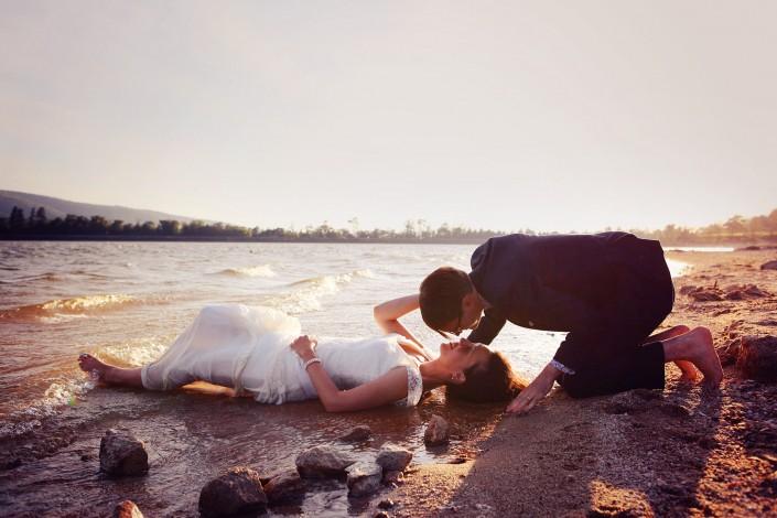 trash the dress au lac de saint ferreol