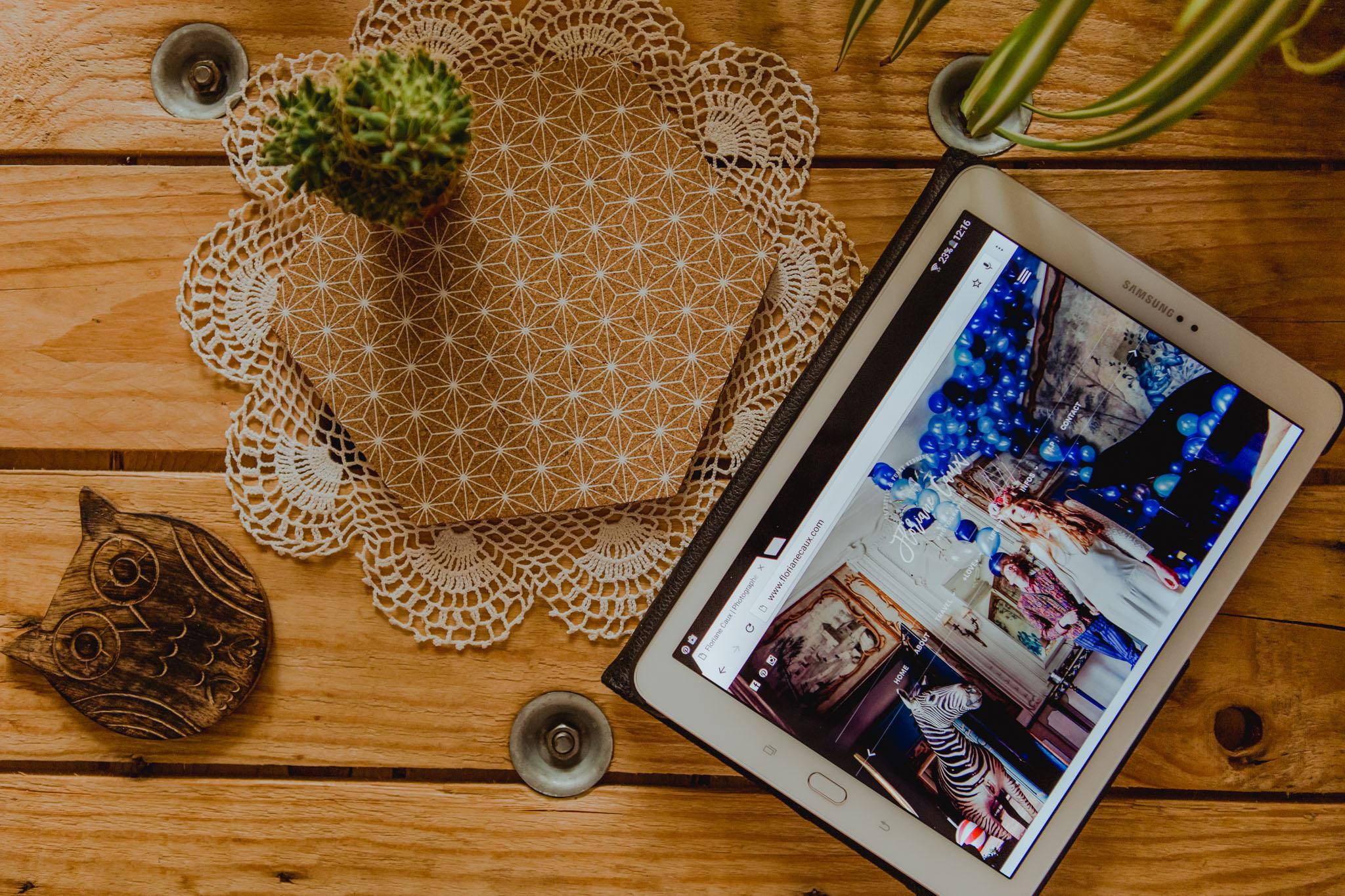 nouveau site de floriane caux photographe de mariage et lifestyle à toulouse