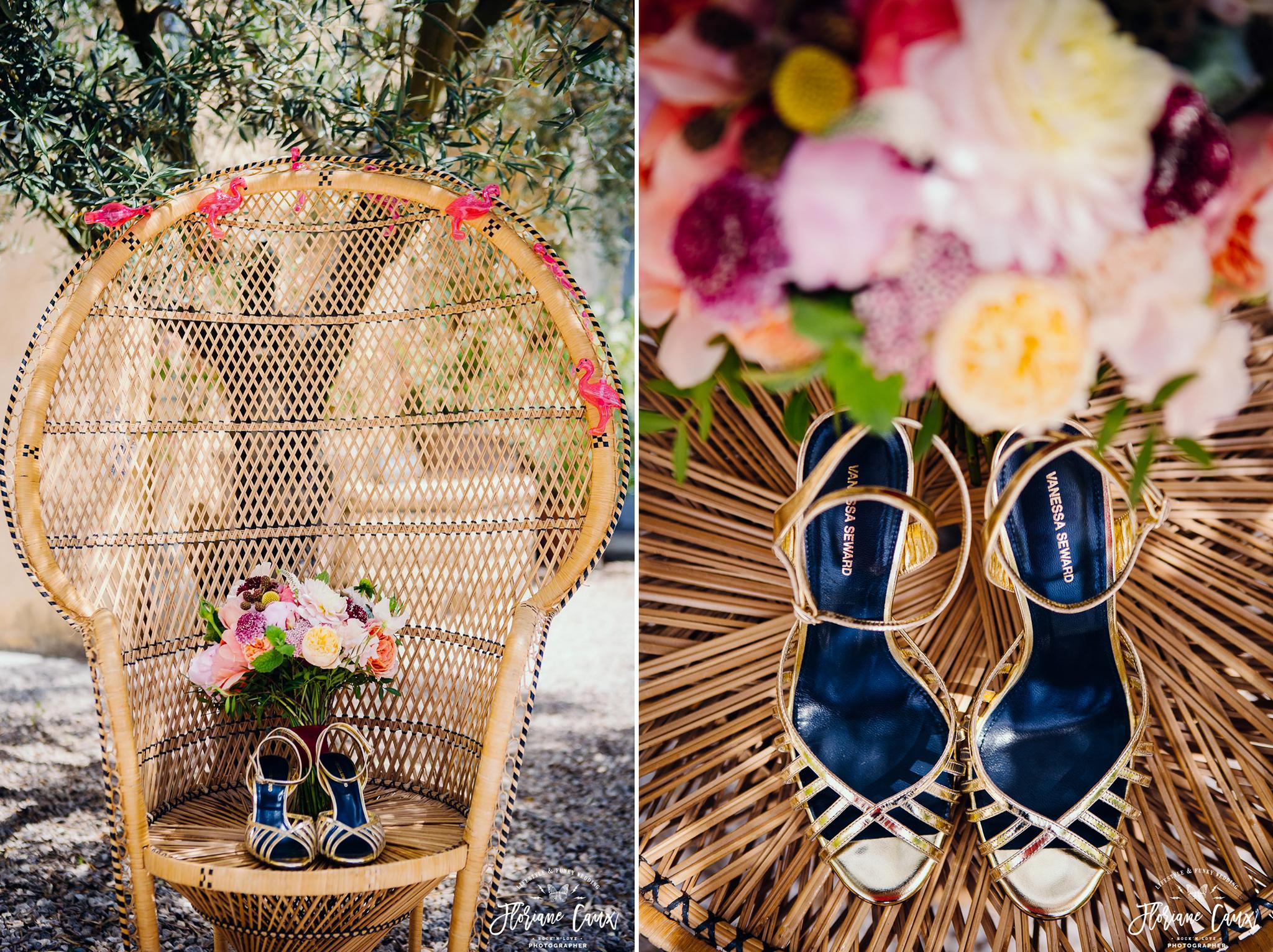 chaussures de mariée Vanessa Seward
