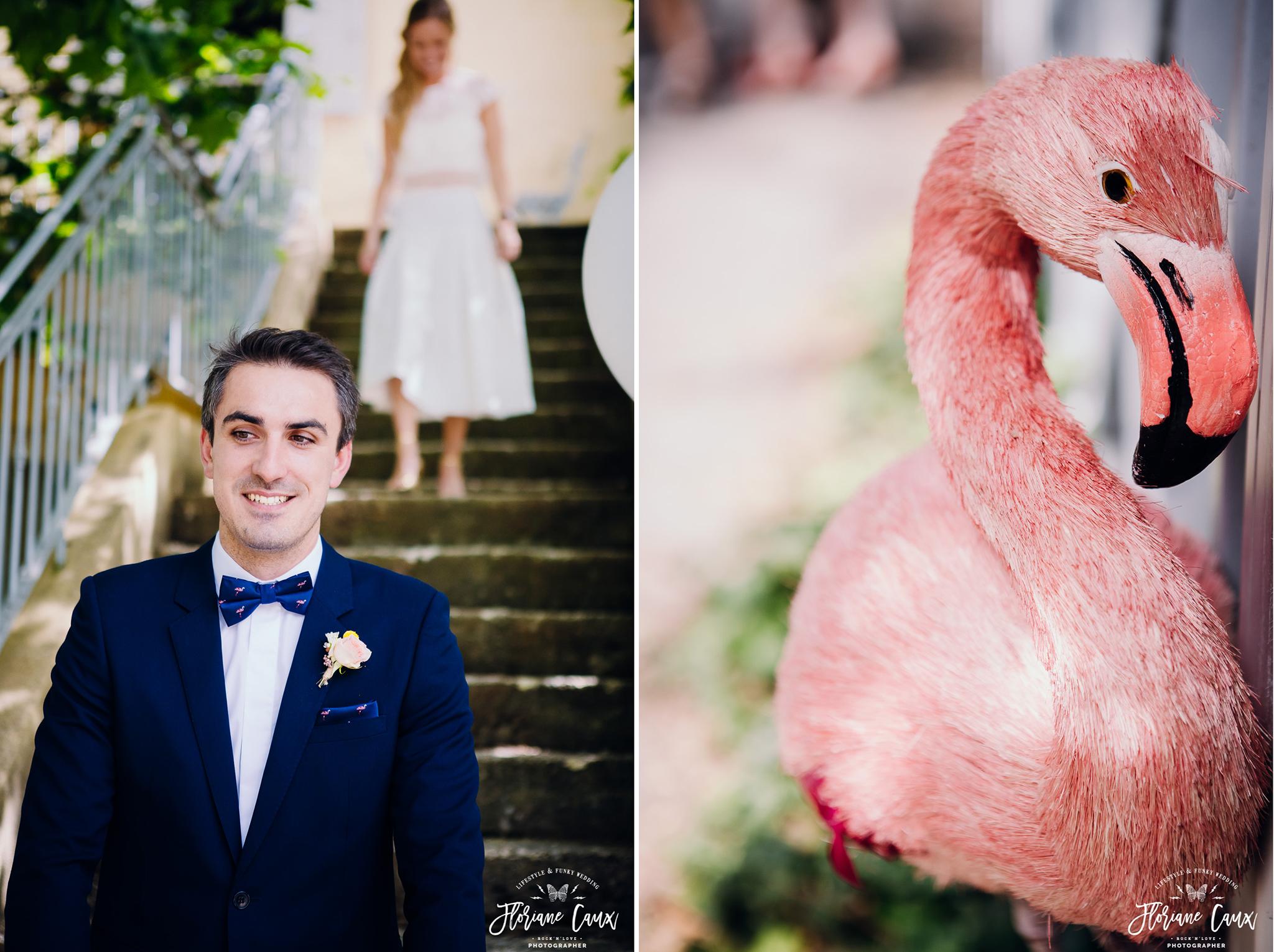 first look des mariés au domaine de blanche fleur