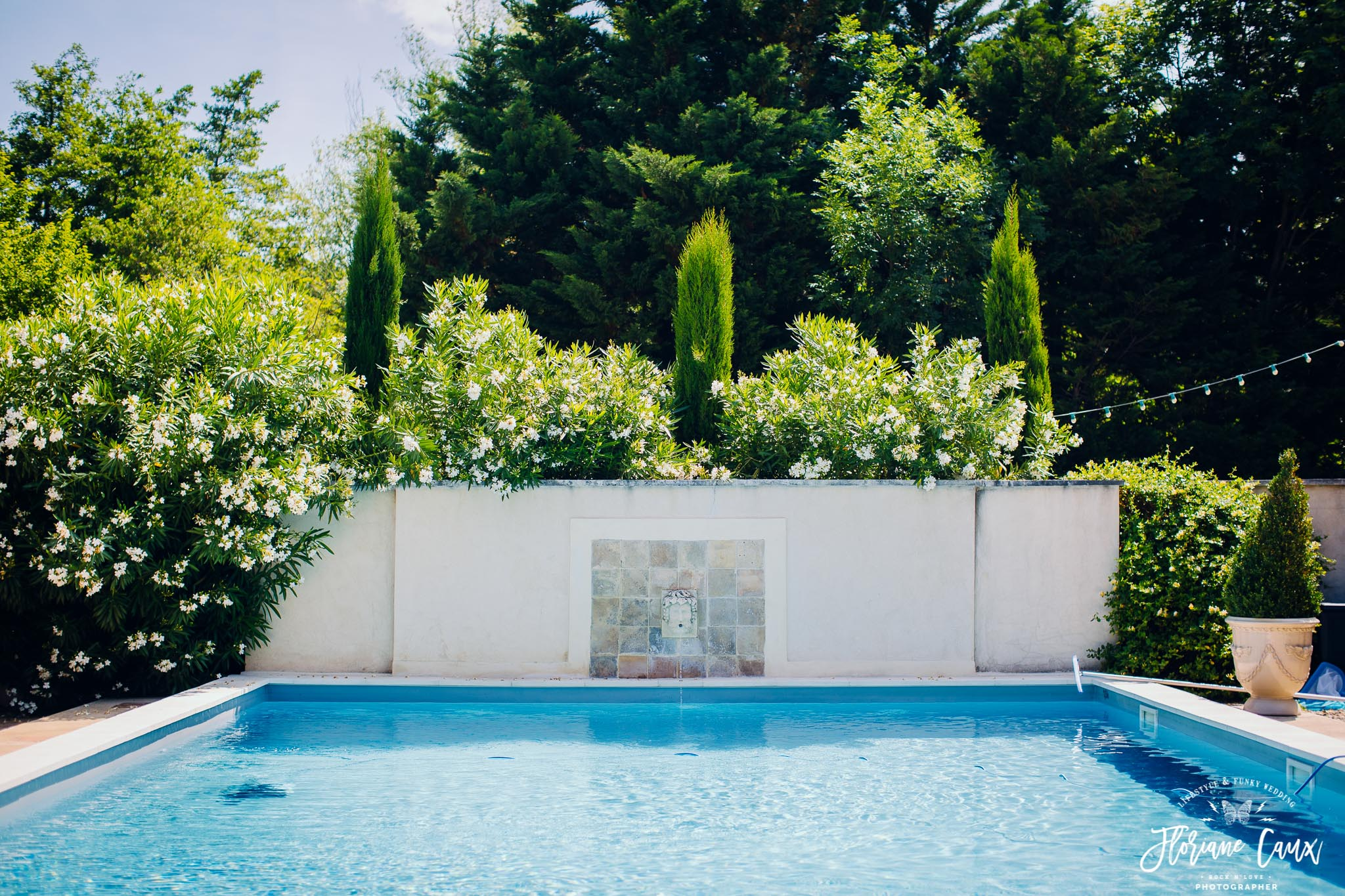piscine domaine de blanche fleur avignon