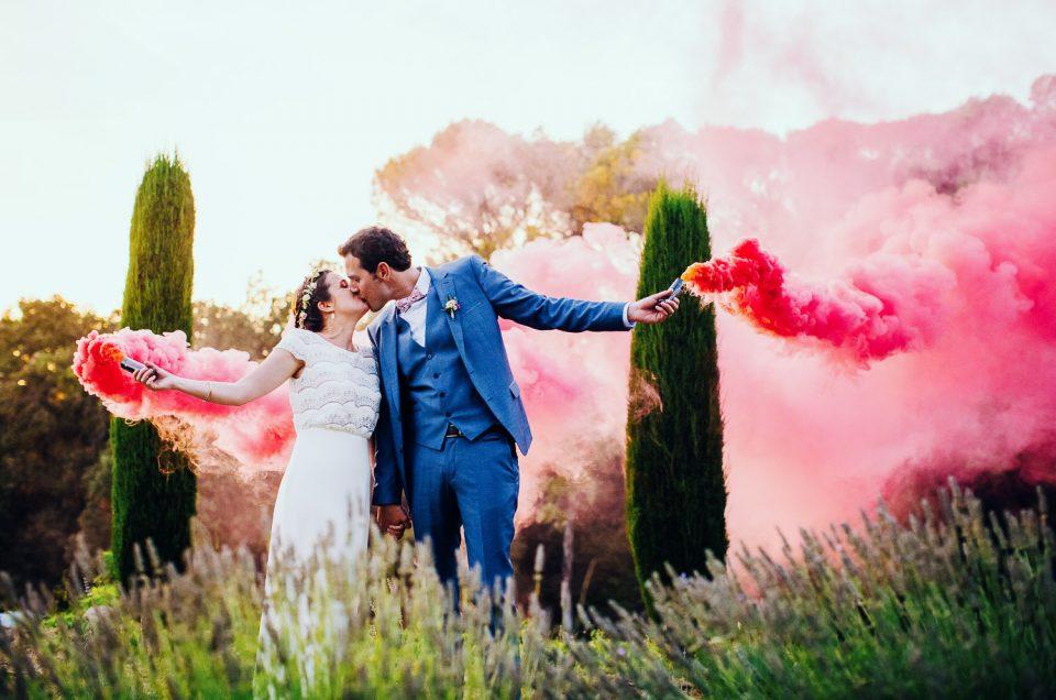 {Mariage au Mas de So} Julie & Arnaud - Avignon