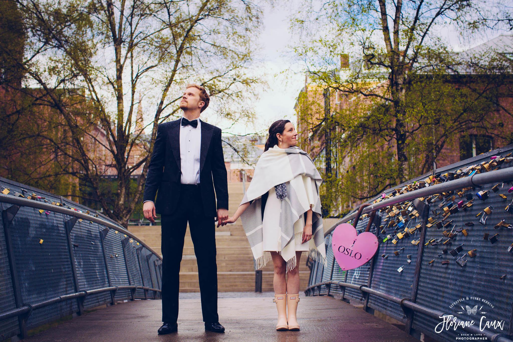 photos de mariage en Norvège