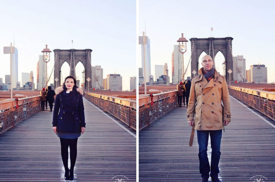 {Séance engagement} Cécile & Laslo à Brooklyn, NYC