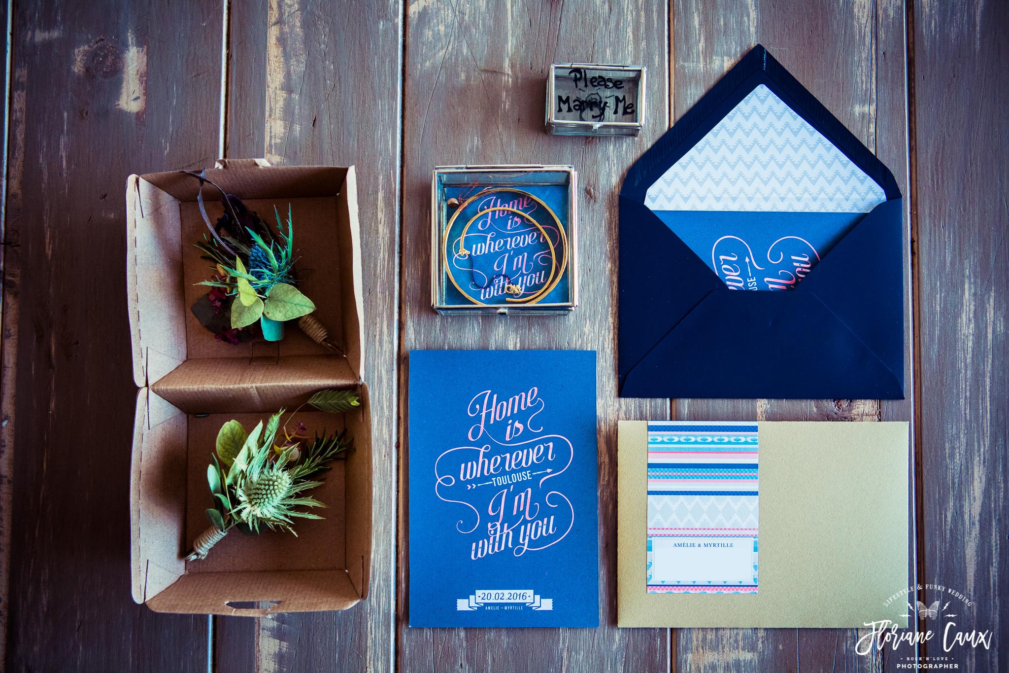 papeterie mariage par The Launchette studio