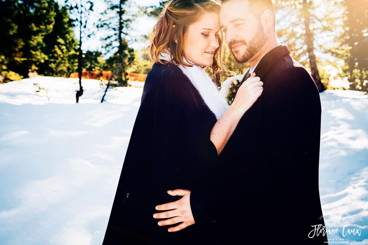mariage en hiver village nordique Angaka à Beille 09