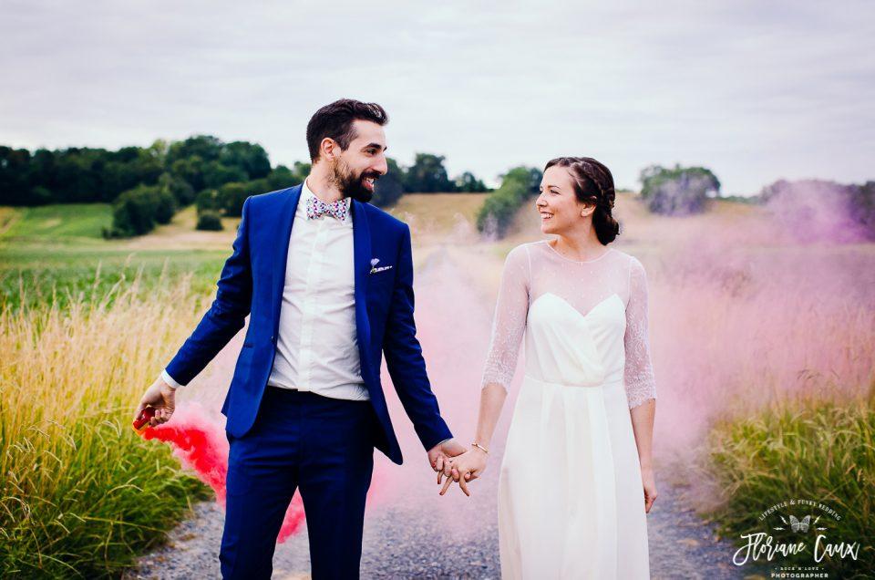 {Mariage funky au Pays Basque} Jessica + Nicolas