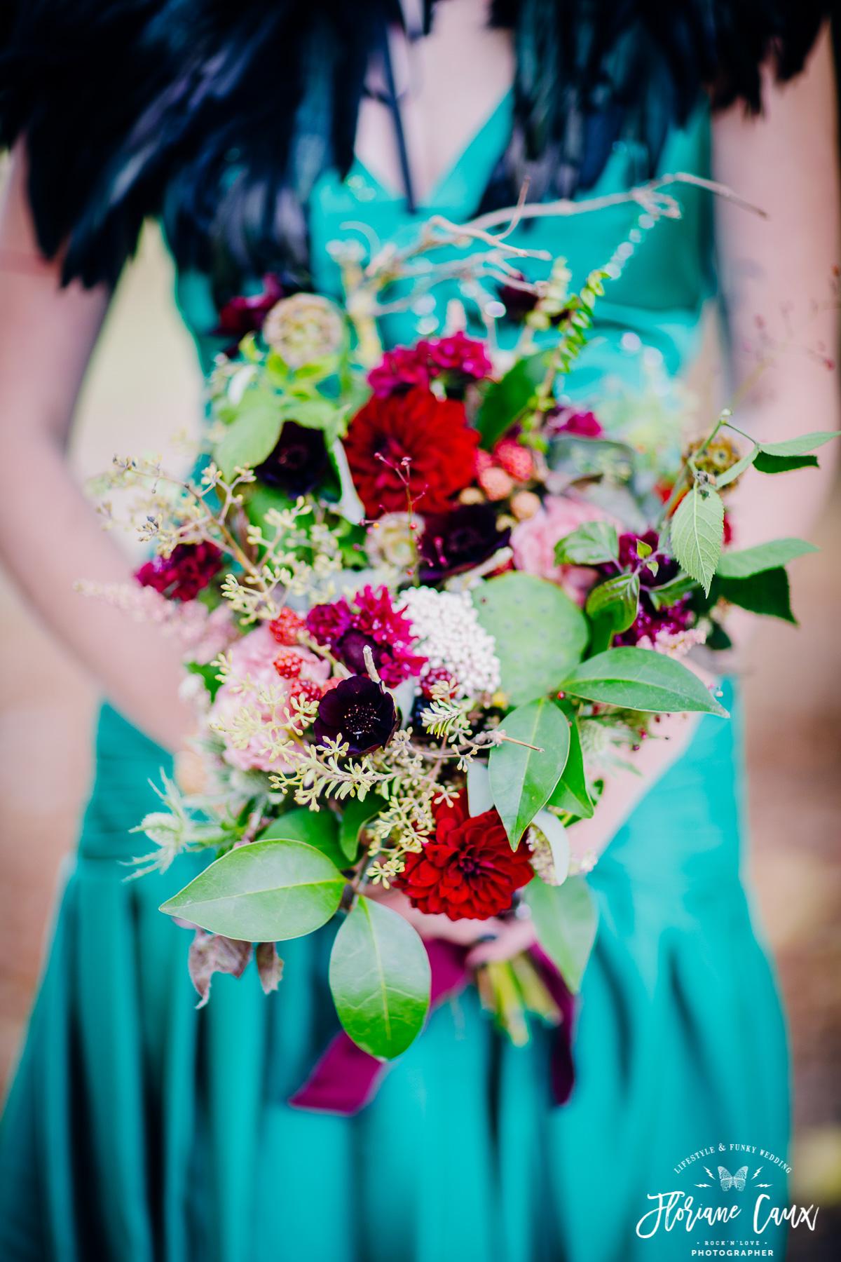bouquet de mariée fleuriste toulouse poppy figue