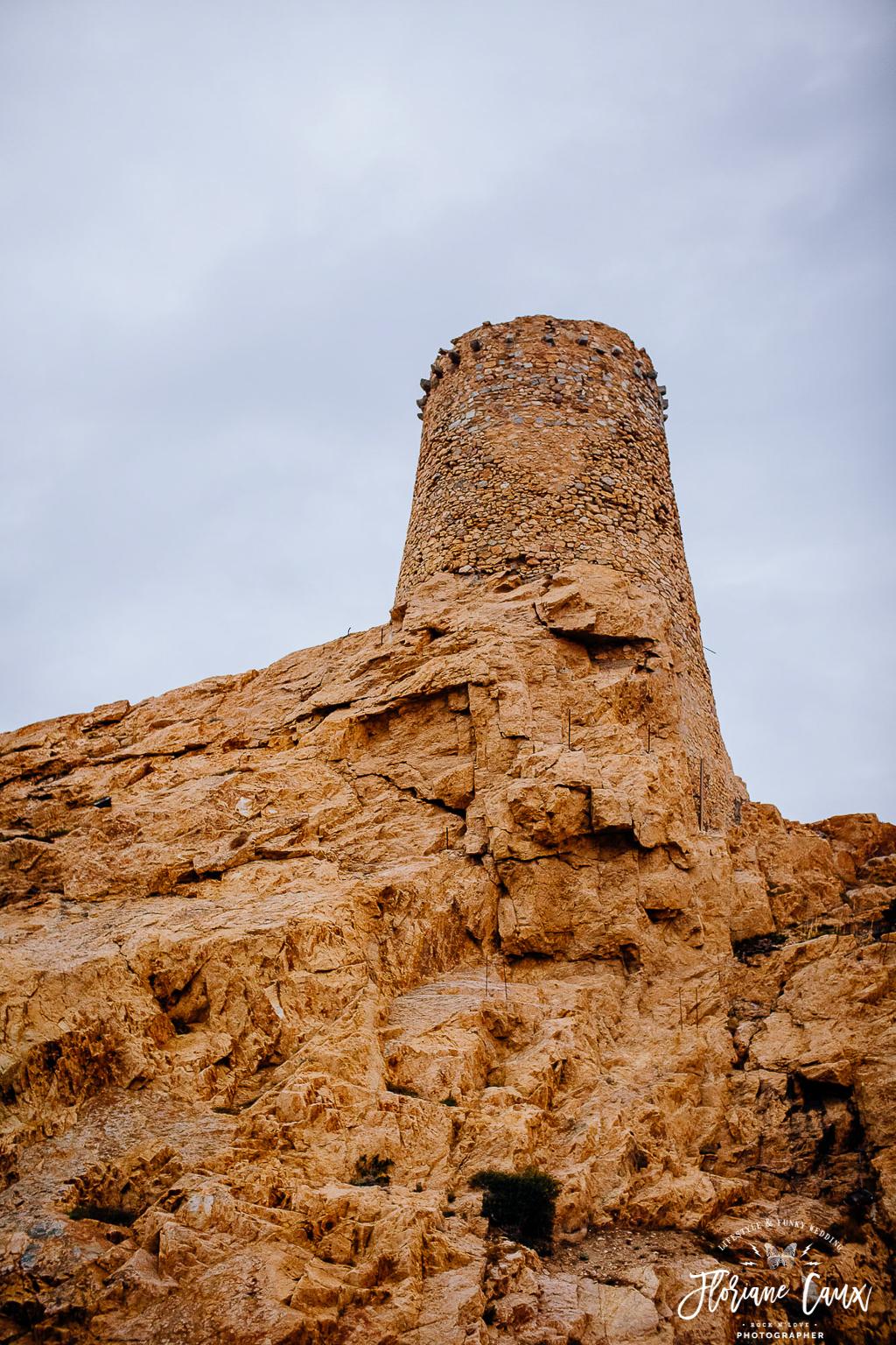 rocher île rousse, corsica