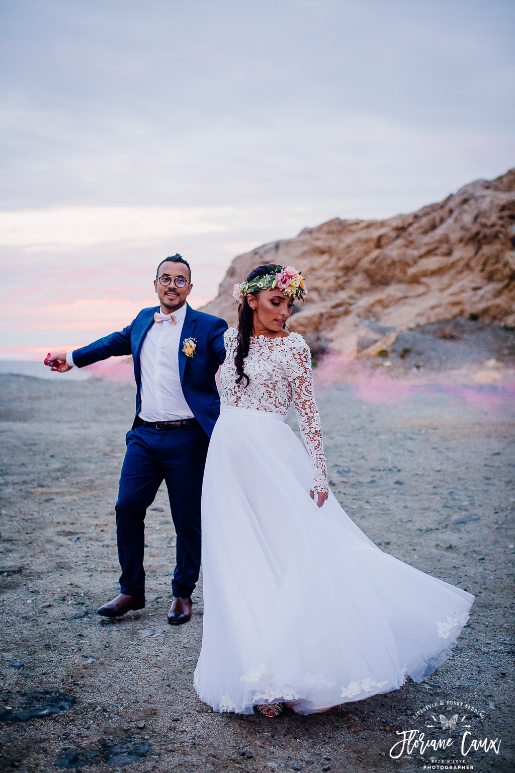 photo de couple en corse, ile rousse