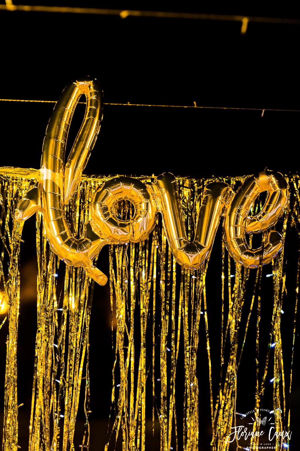 ballon love mariage